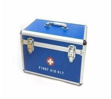 First Aid Kit Box-Blue