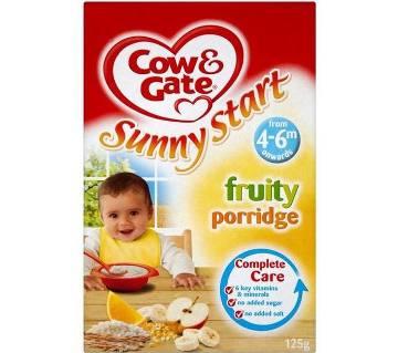 Cow & Gate Fruity Porridge-125 Gm (UK )