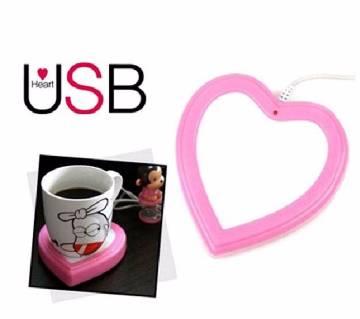 LOVE শেপ USB কাপ ওয়ার্মার