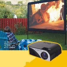 Full HD LED Mini TV Projector- 1200