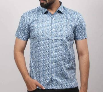 Half Sleeve Cotton Shirt For Men