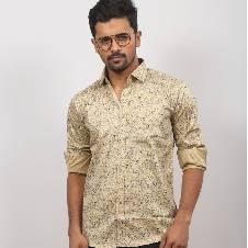 Full Sleeve Cotton Formal Shirt For Men