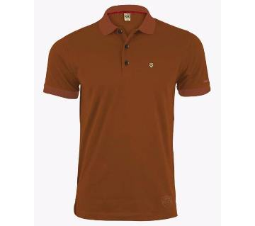 Mens Solid Colour Polo Shirt