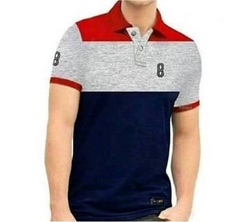 Mens Multicolour Polo Shirt