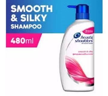 Head & Shoulders Smooth & Silky Shampoo 480 ml - Thailand
