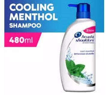 HEAD & SHOULDERS Shampoo Cool Menthol 480ml - Thailand