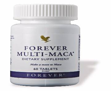 Forever multi maca diet supplement