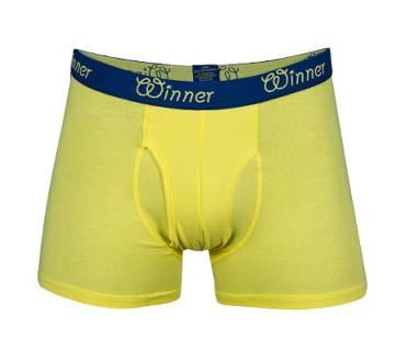 Winner Mens Deluxe Boxer - 43606 - Yellow