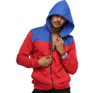 Winner Mens Hoodie W17-MH02- RED BLUE