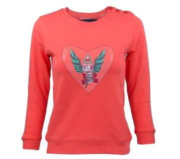 Girl Kids Sweatshirt - 37904 - H.CORAL
