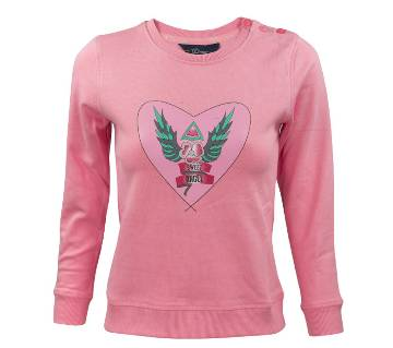 Girl Kids Sweatshirt - 37904 - L.PINK