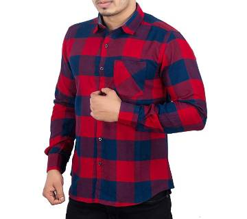 Menz Casual Shirt - 43650 - RED CHECK