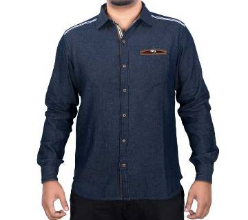 Menz Casual Shirt - 43648 - BLUE
