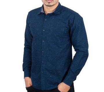 Menz Casual Shirt - 43649 - NAVY AOP