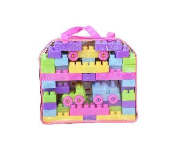 Plastic Building Blocks Toys - Multi Color