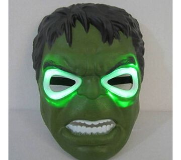 Avengers Series Led Hulk Mask - Green