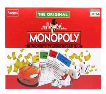 Monopoly Trading Board Game - Multicolor