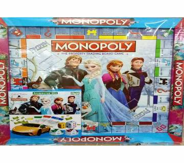 FRAM Monopoly Trading Board Game