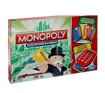 MONOPOLY ELECTRONIC BANKING -MULTICOLOR