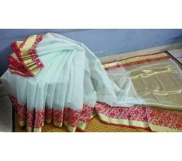 হাফসিল্ক জামদানি শাড়ি বাংলাদেশ - 5697541
