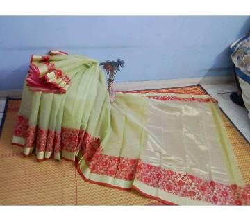 হাফসিল্ক জামদানি শাড়ি বাংলাদেশ - 5697601