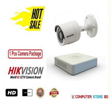 CCTV Camera ( 1 Pcs Camera Package-Hikvision)