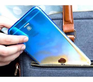 আইফোন 7 ব্যাক কভার- কালার  নীল