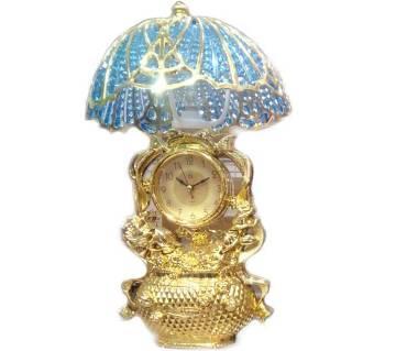 Exquisite desk lamp clock