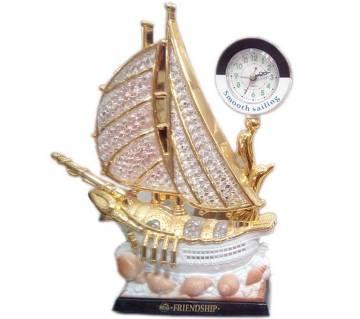 Ship Style Clock Showpieces