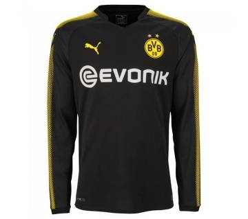 2017-18 Borussia Dortmund Away Full Sleeve Jersey copy