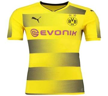 2017-18 Borussia Dortmund Home Half Sleeve Jersey copy