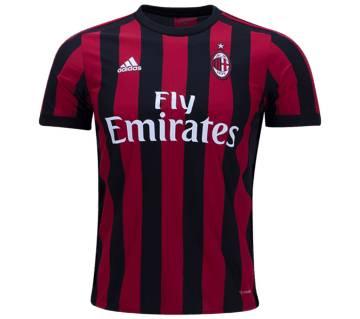 2017-18 AC Milan Home Half Sleeve Jersey copy