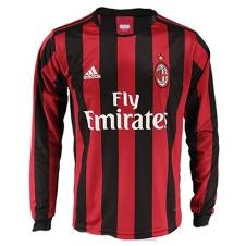 2017-18 AC Milan Home Full Sleeve Jersey copy