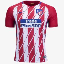 2017/18 Atletico Madrid Home Half Sleeve Jersey copy