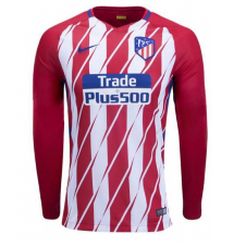 2017/18 Atletico Madrid Home Full Sleeve Jersey copy