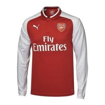 2017-18 Arsenal Home Full Sleeve Jersey copy
