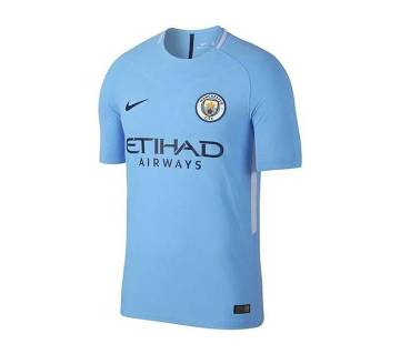 Manchester City Home Half Sleeve Jersey 2017-18