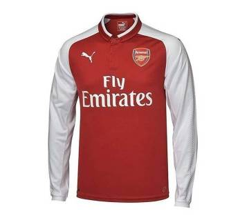 2017-18 Arsenal Home Full Sleeve copy Jersey