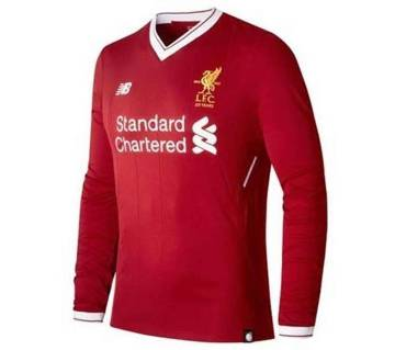 2017-18 Liverpool Home Full Sleeve Jersey copy