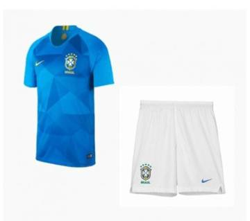 Brazil Away World Cup Jersey With Pant