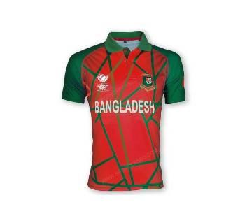 ২০১৭-বাংলাদেশ ক্রিকেট টিম জার্সি শর্ট স্লিভ