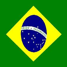 ব্রাজিলের জাতীয় পতাকা - ৫ x৩ ফিট