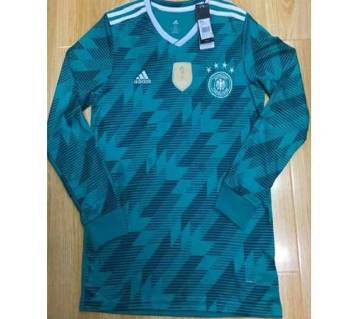 Germany Long Sleeve Away Jersey 2018