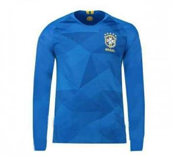 Brazil Long Sleeve Away Jersey 2018