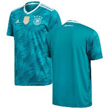 2018 World Cup Germany Away ShortSleeve Jersey (100-120 GSM) - copy