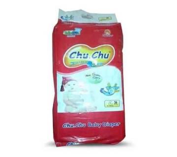 Chu Chu বেবি ডায়াপার L (9-14 kg) 36পিস