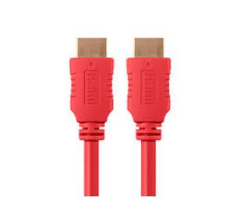 BLACK RED 3 METER HDMI PC Cable
