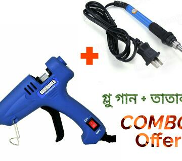 Glow Gun & Welding Machine Combo
