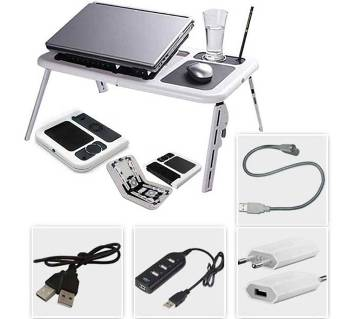 PORTABLE LAPTOP E-TABLE WITH SOCKET