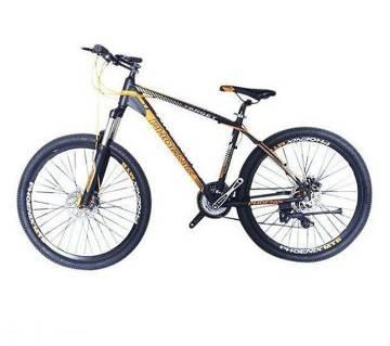 "Phoenix Target 26"" Bicycle - Black and Yellow"